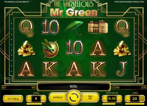 the-marvellous-mr-green online slot