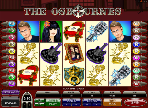 the-osbournes online slot