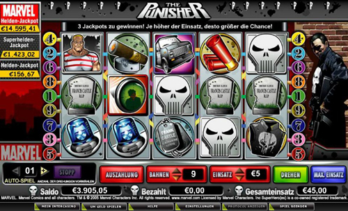the punisher online slot im intercasino