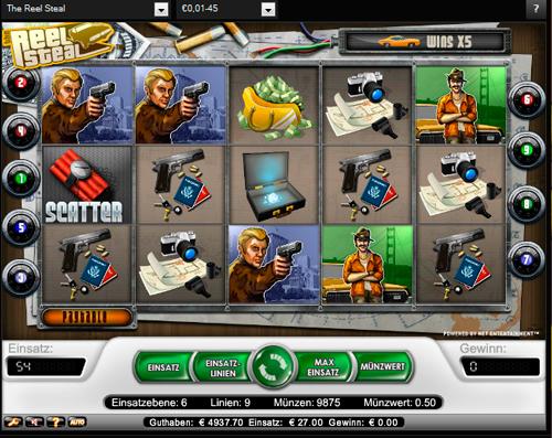 Reel Steal slots - spil Reel Steal slots gratis online.