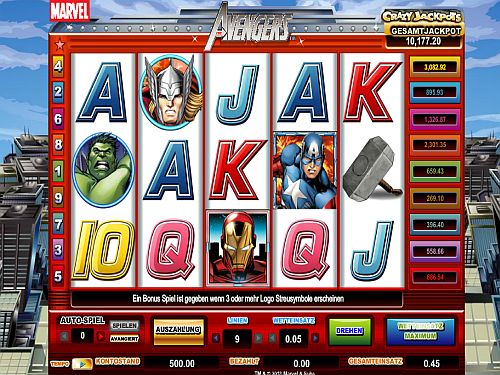 The Avengers Spielautomat