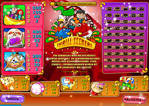 online slot thrill seekers im william hill casino