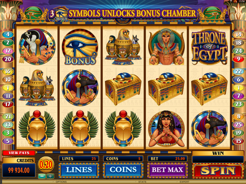 throne-of-egypt online slot