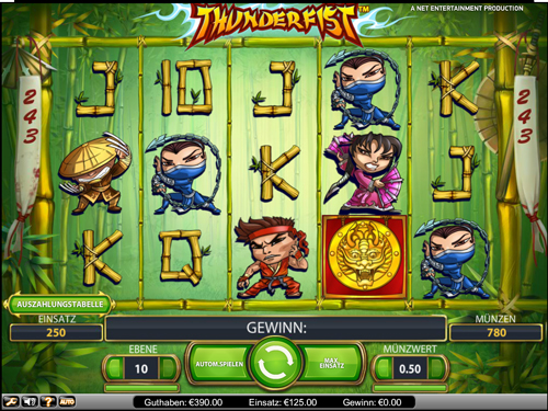 thunder fist online slot im mr green casino