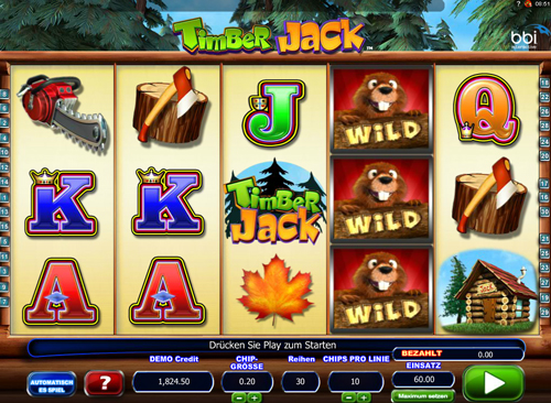 timber-jack online slot