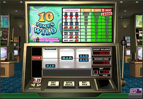 online slot 10 times wild im 888 casino
