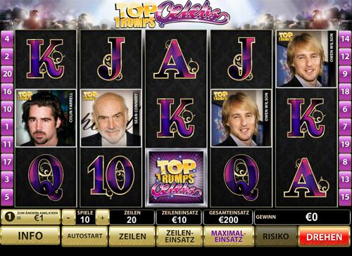 Spiele Top Trumps Celebs - Video Slots Online