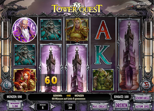 tower-quest online slot