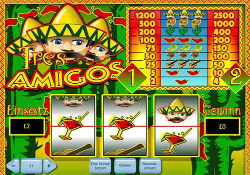 online slot tres amigos von william hill