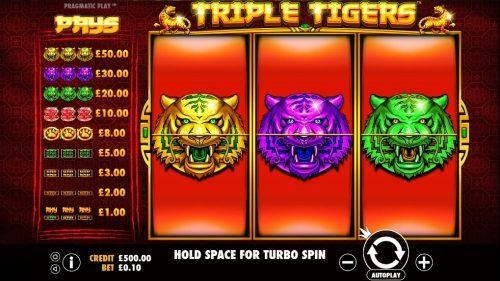 Triple Tigers Vorschau