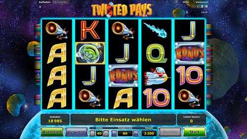 Twisted Pays Slots - Jetzt sofort gratis online spielen