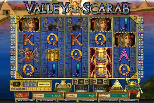 online slot valley of the scarab im intercasino