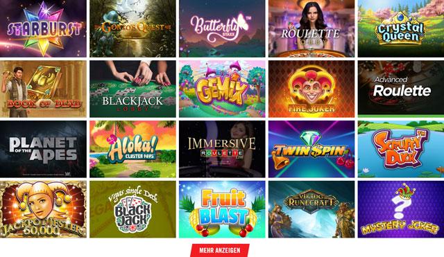 Vegas Hero Casino Spiele