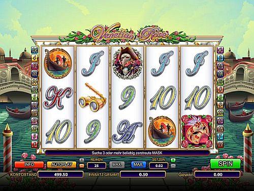 Venetian Rose Online Slot