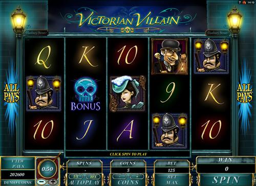victorian-villain online slot