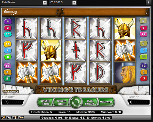 Vikings Treasure slots - spil Vikings Treasure slots gratis online.