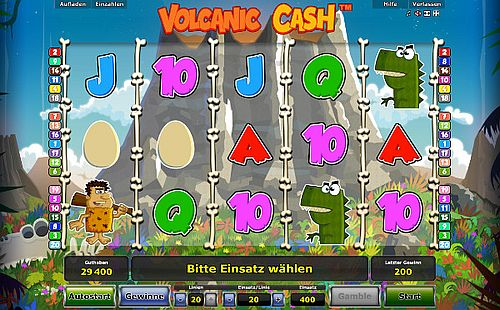 volcanic cash spielen