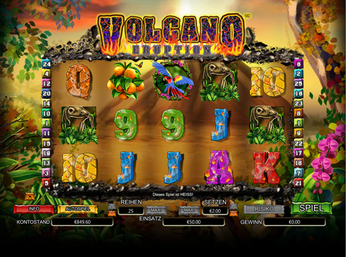 volcano-eruption online slot