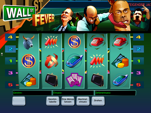 wallstreet-fever online slot