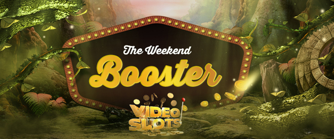 Weekend Booster Bonus Banner