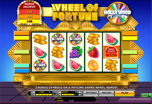 free casino wheel of fortune slots