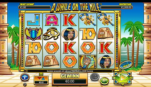 While on the Nile Slot
