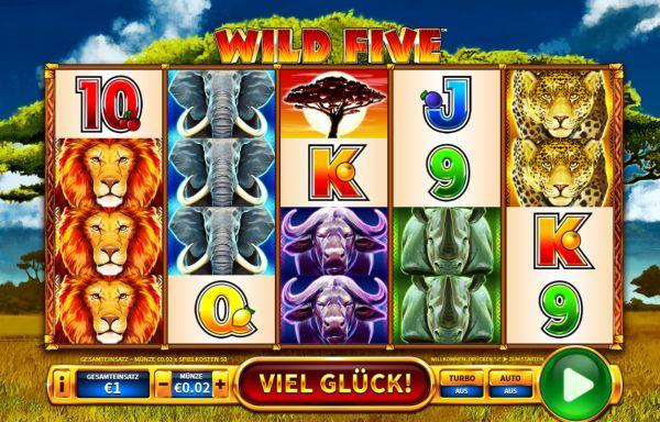 Wild Five Slot Vorschau