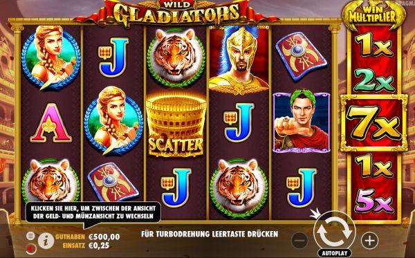 Wild Gladiators Vorschau