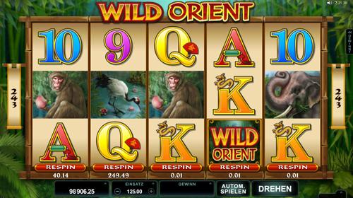 wild-orient online slot