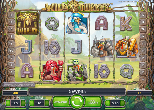 wild turkey online slot im mr green casino