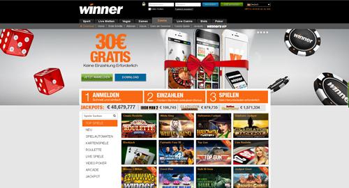 online casino winner online casino ohne anmeldung
