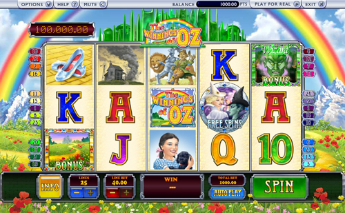 winnings-of-oz online slot