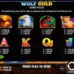 Wolf Gold Gewinne