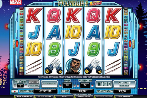 online slot wolverine action stack im intercasino