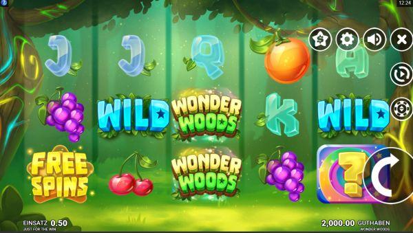 Wonder Woods Slot Vorschau