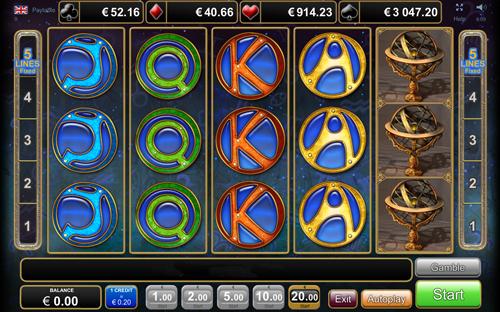 zodiac wheel spielen